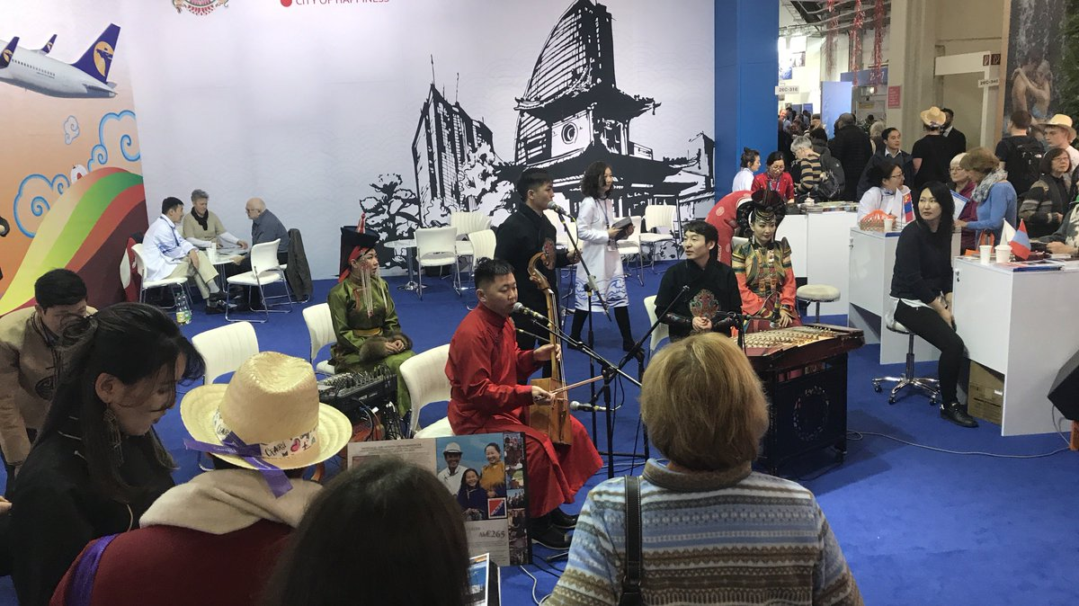 EXPERIENCE #MONGOLIA the GEOTOURISM WAY #ITBBerlin Hall 26c/316 CONCERTS! #GERtoGER https://t.co/7eE4kRkuFJ 😎🙏 #TTOT #travel #trips #homestay #culture #fun #tourism #horseback #trip #holiday #tours #photo #lp #tripadvisor #USA #EU #Germany #Berlin #UK #London #Photography #Asia