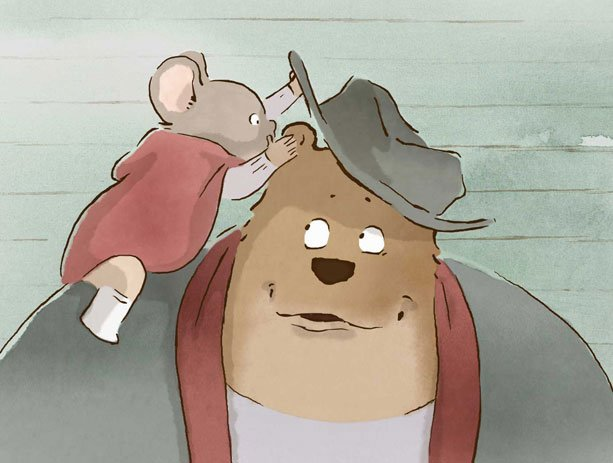 Psst! Oscar-nominated Ernest & Celestine director Benjamin Renner will be here in person TODAY at our #AnimatorsAllAround panel discussing his work, creative process, and more! Snatch up tickets here: ow.ly/AA9A30iOQfo