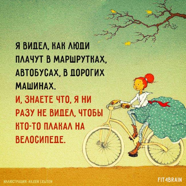 стихи к подарку велосипед