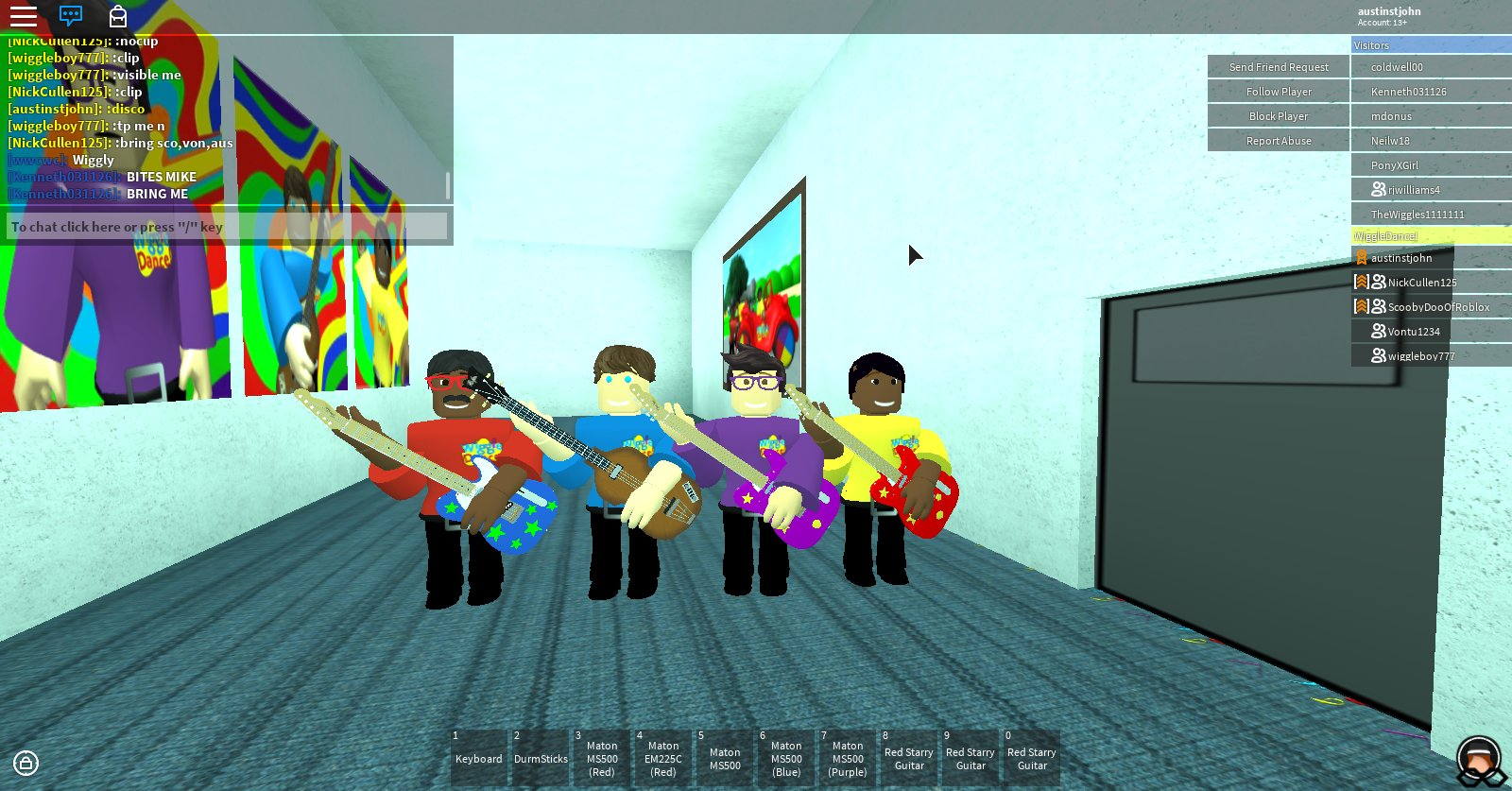 Wiggle Dance Roblox On Twitter What An Awesome Show We Did