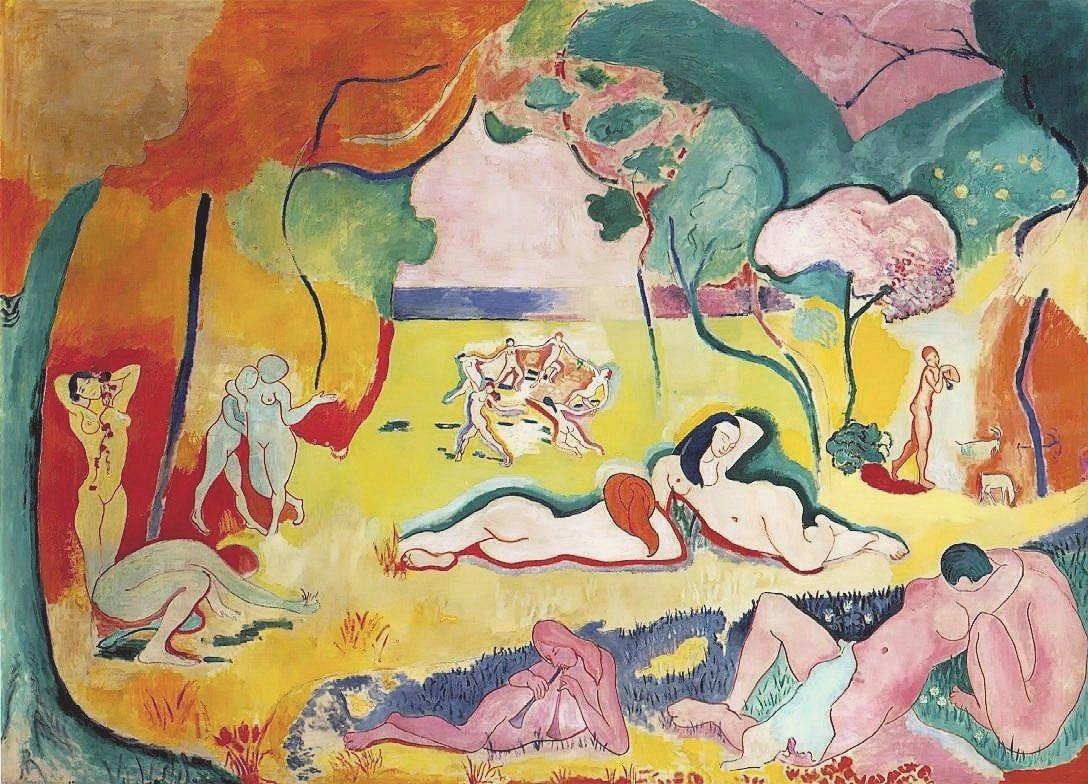 La gioia di vivere, o Le bonheur de vivre (The Joy of Life) di Henri Matisse è uno dei quadri che mi rappresentano di più. Quale opera vi assomiglia? @caputmundiHeidi @gori_magnani @fiorillomanuel1 @CiriSince1978 @archivetro @f_girasole @art_for_free @sfnnicita @guidovecchione