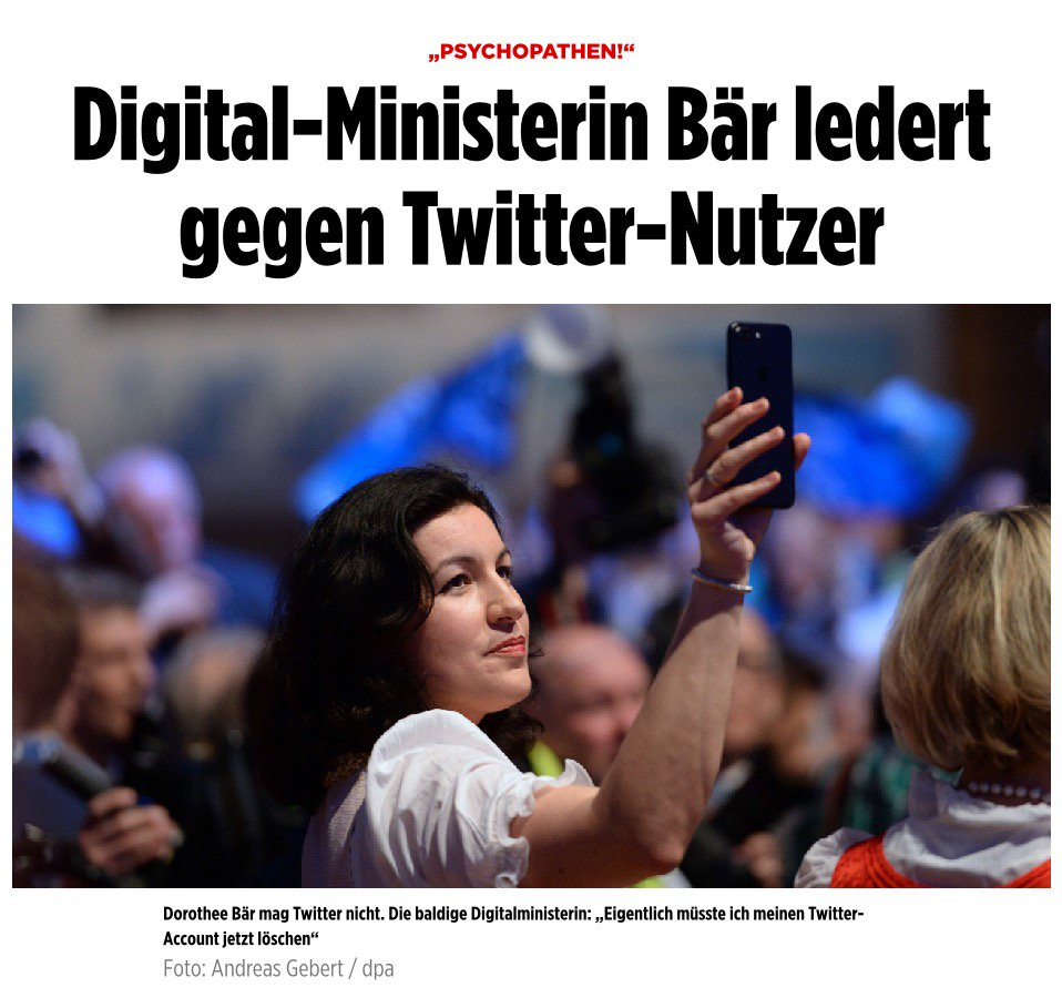Karl Lauterbach On Twitter Macht Doro Bar Als Digital Ministerin Den Neuen Dobrindt Viele Unsinnige Spruche Zum Schluss Noch Immer Kein Netz