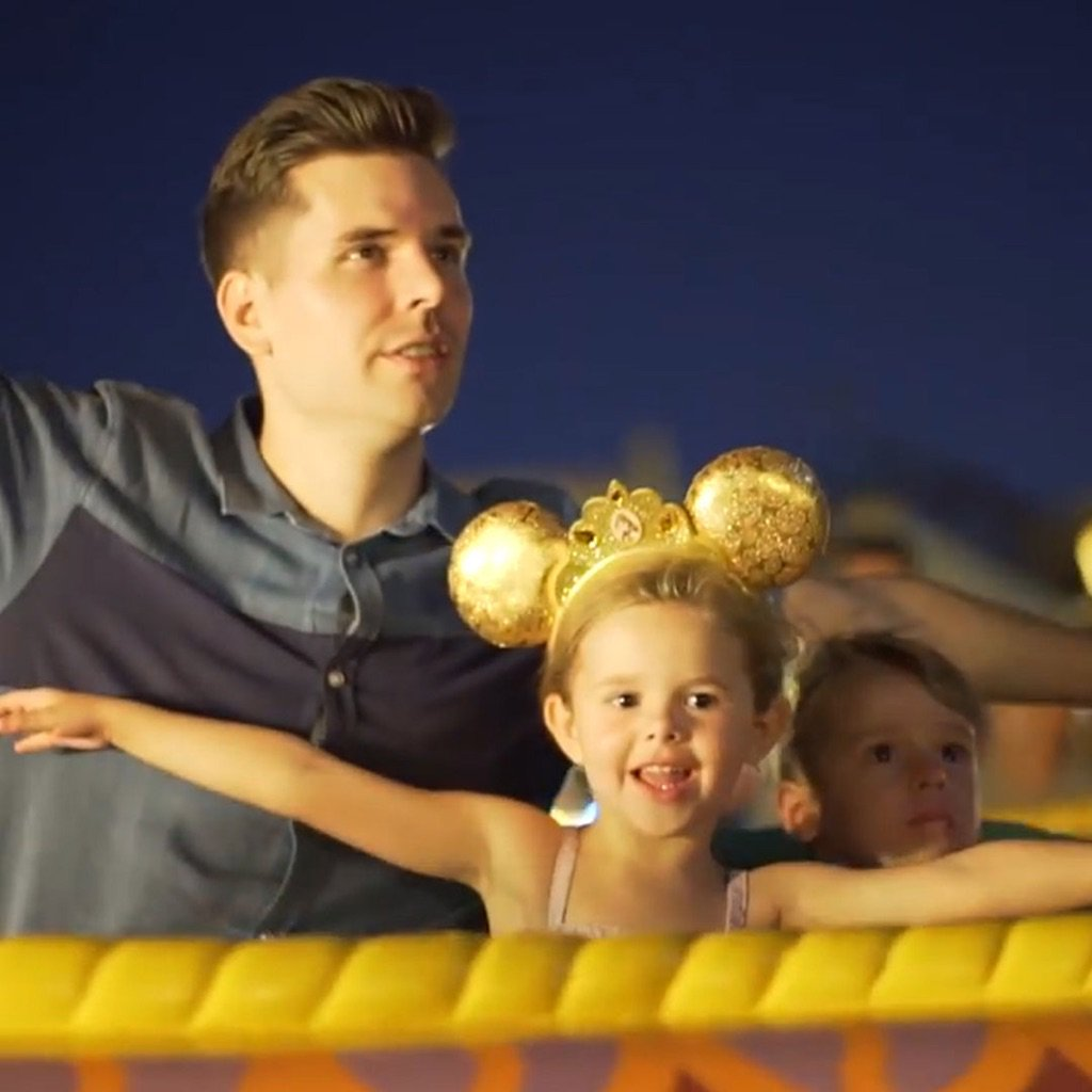 It's never too early to show them our world. Just ask Claire & Dave Crosby. #WaltDisneyWorld