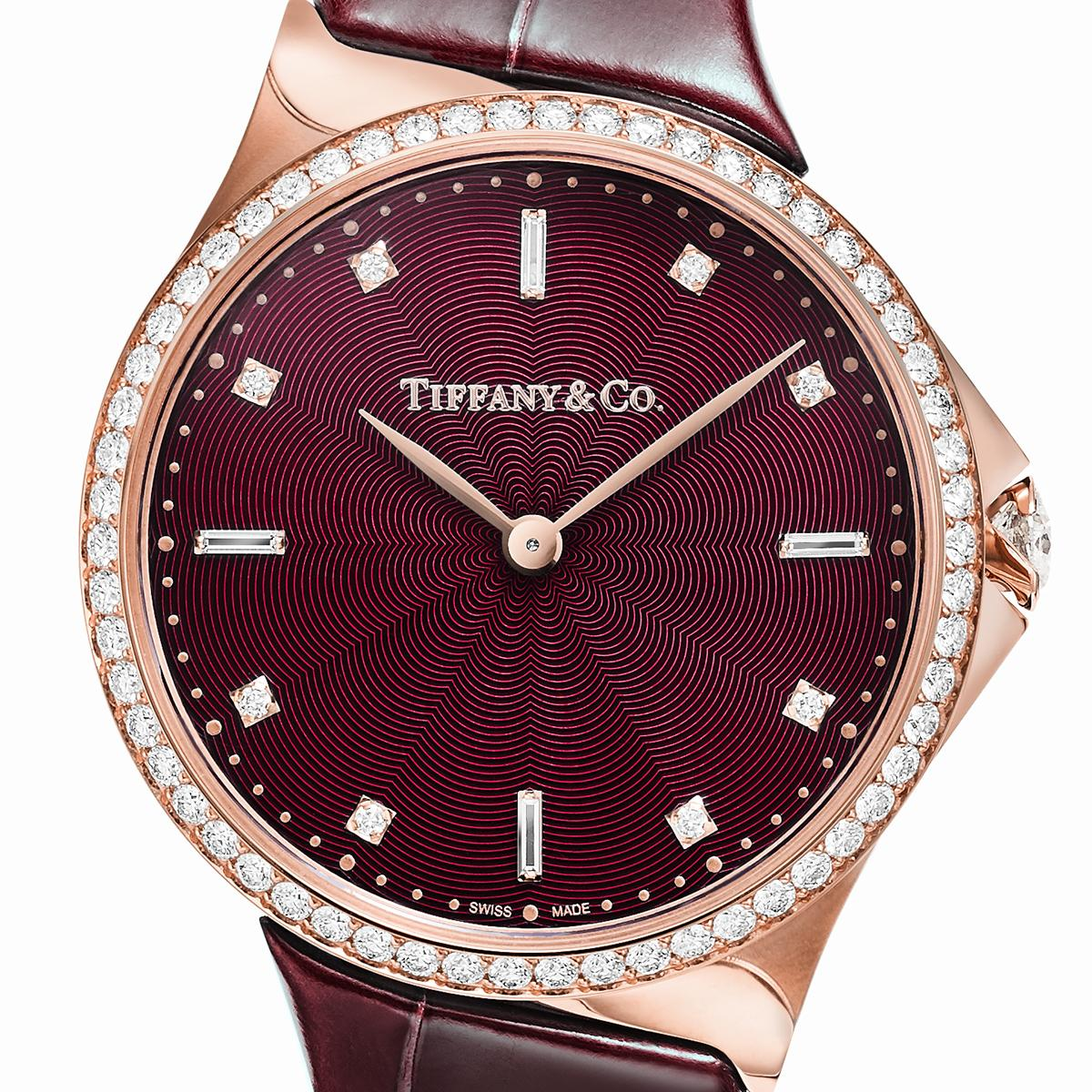 58faa93c6bf0 New Tiffany Metro watches combine Tiffany s diamond legacy with masterful  watchmaking.