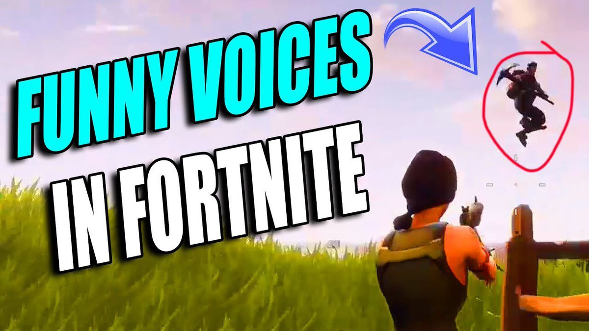 FORTNITE - Doing ridiculous voices to teammates youtube.com/watch?v=M_1zEG…