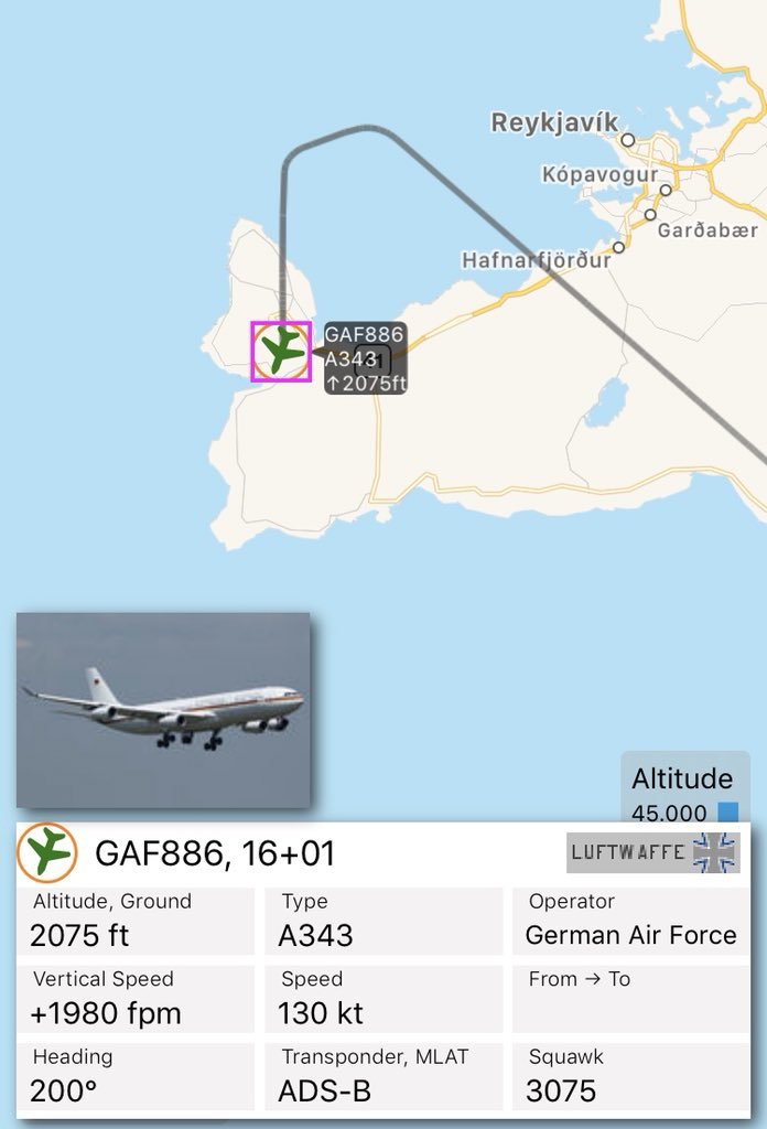 german air force flightradar24