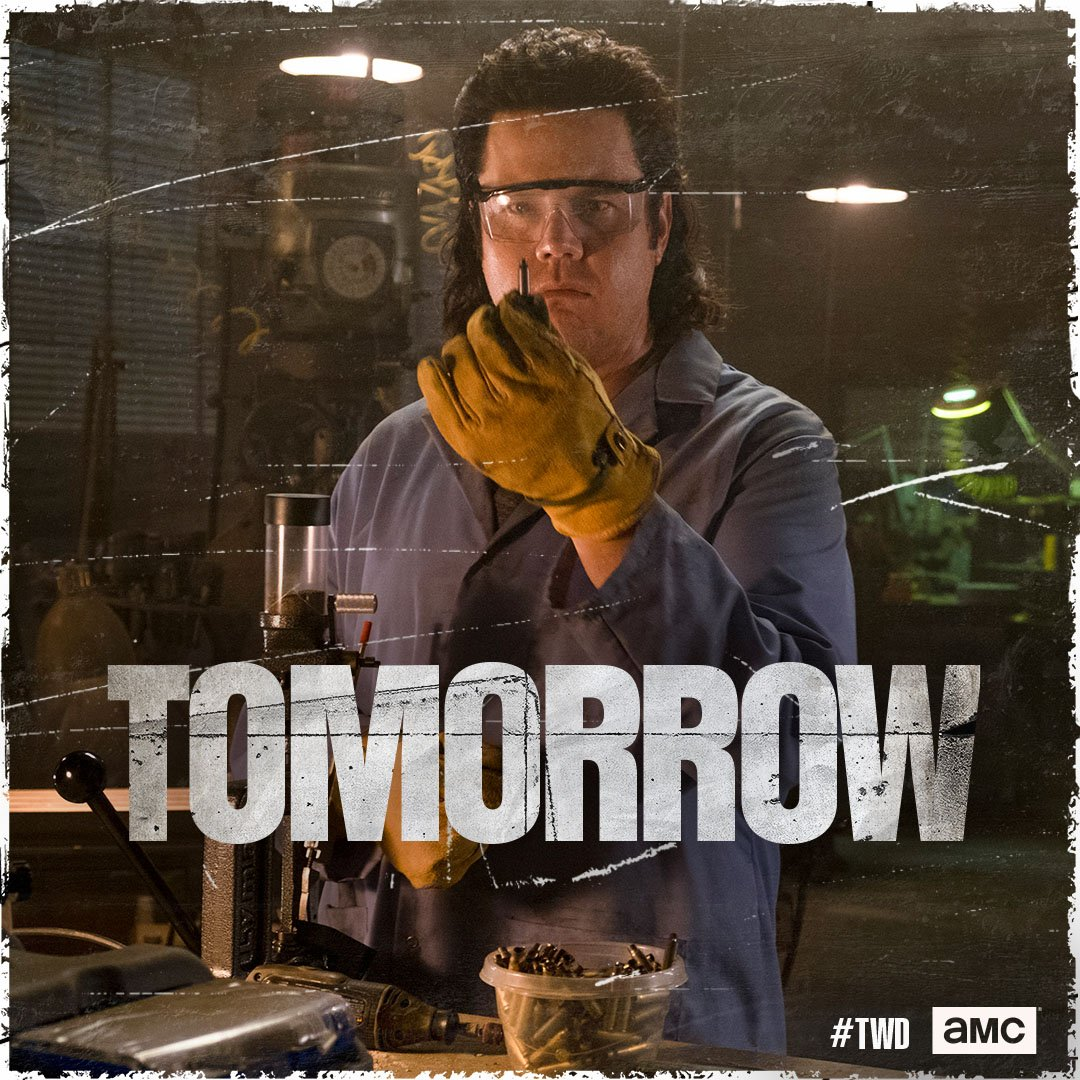 Gear up. New episode of #TWD tomorrow at...