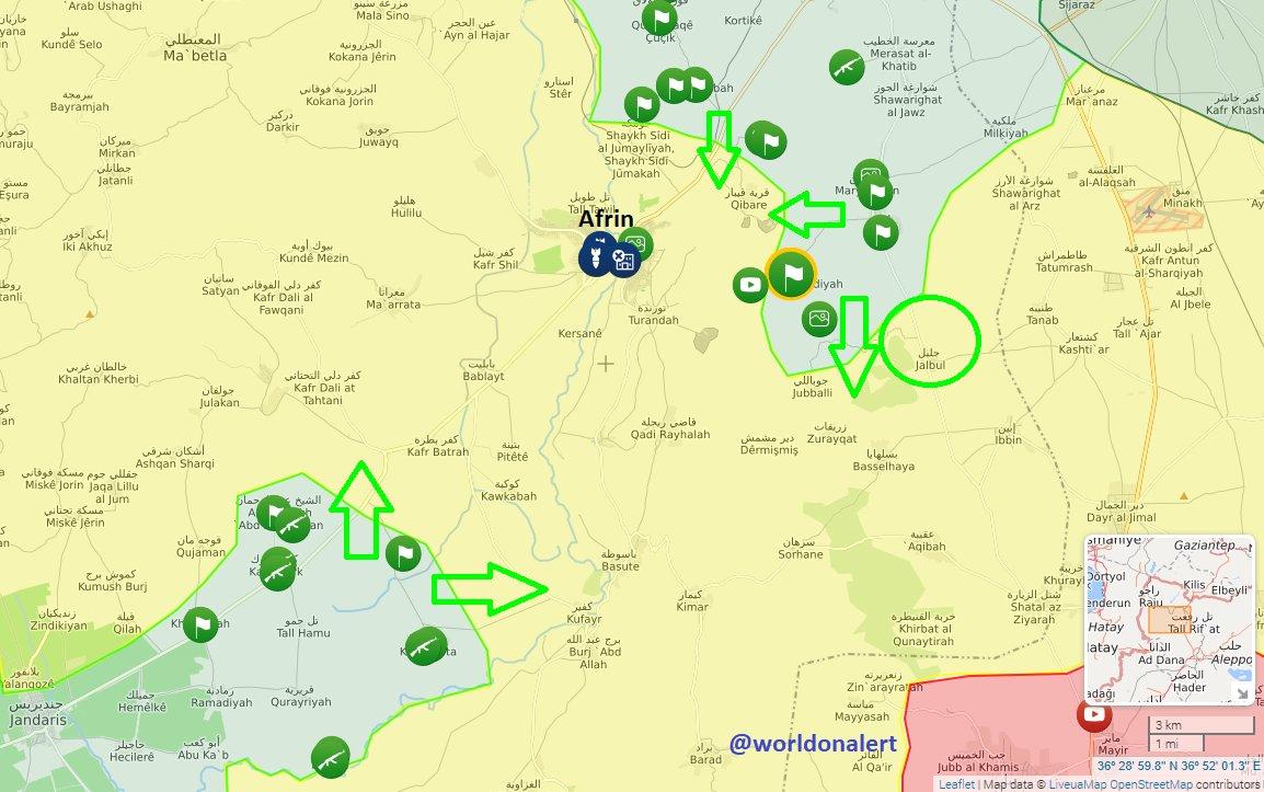Ситуация в Сирии на сегодня