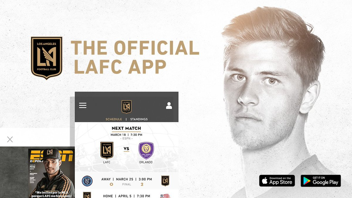 Lafc On Twitter Access Lafc Anytime With The New Los Angeles