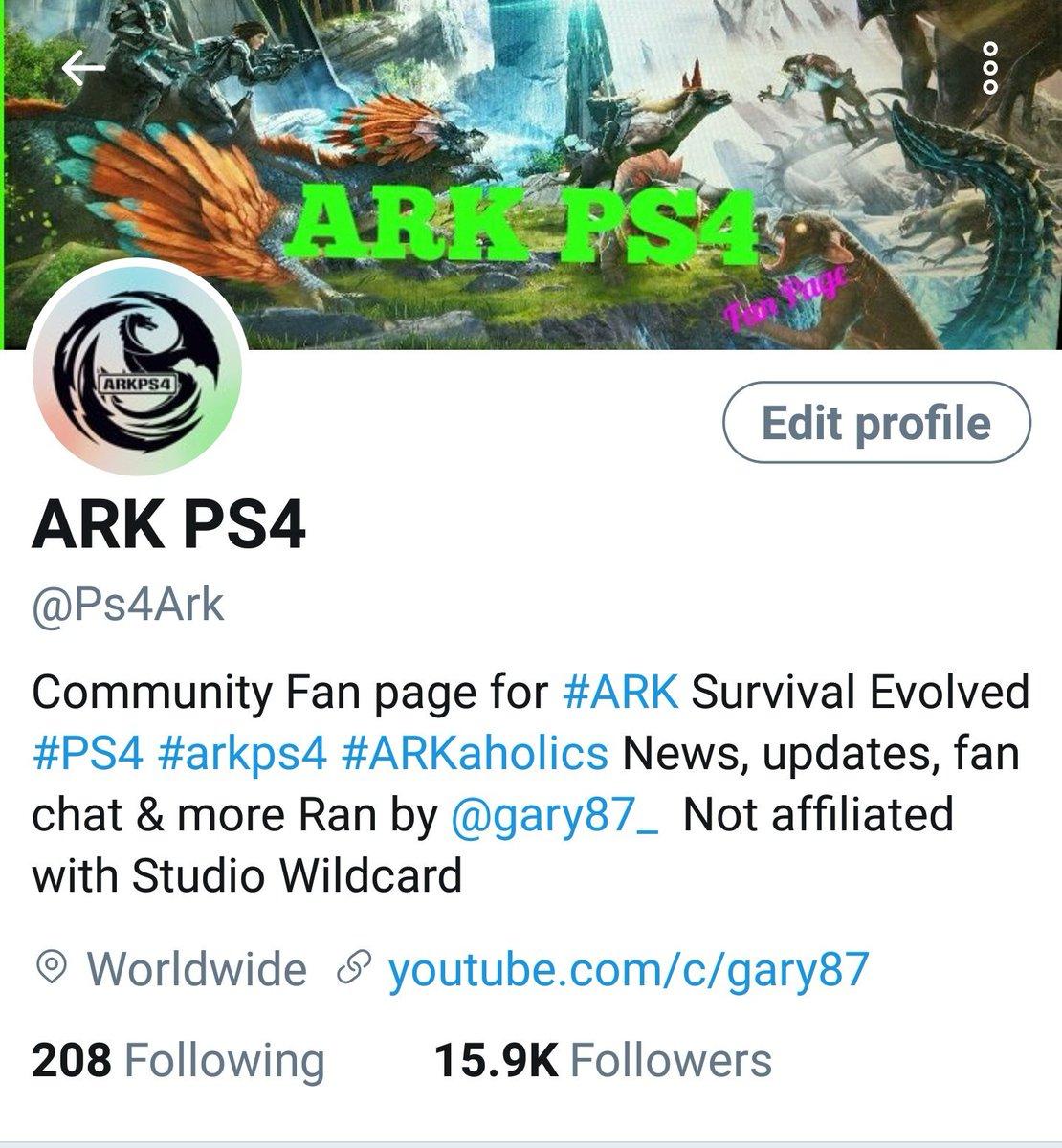 ARK PS4 on Twitter: