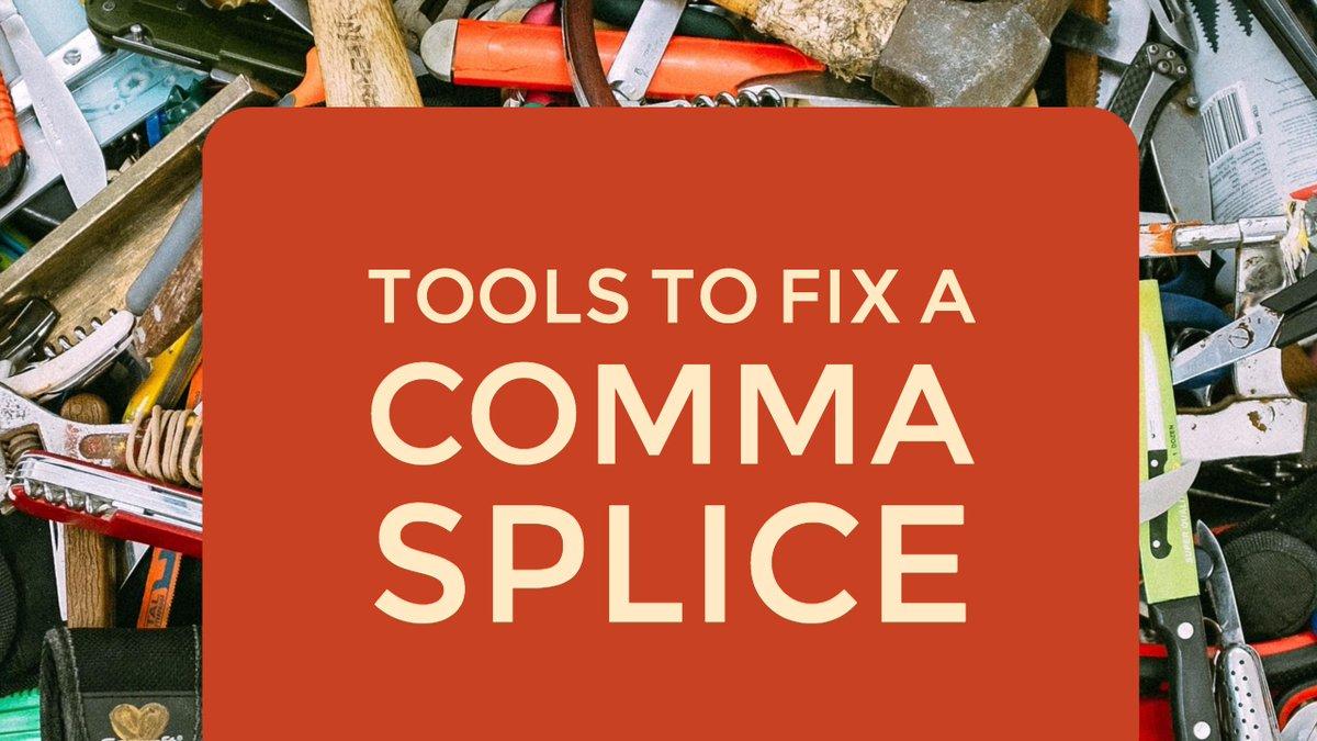 comma splice generator