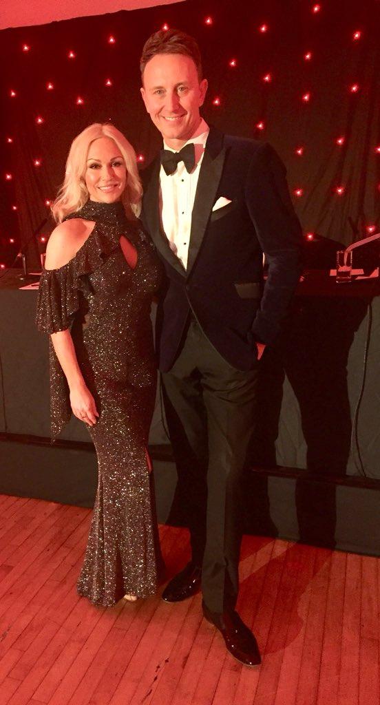 Charity ball at Salisbury with the great @ianwaite ! #Dance #Salisbury #fun https://t.co/VFosmg2siu