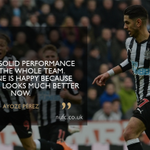 "AYOZE PÉREZ is pleased to see the @premierleague table looking ""much better"" for #NUFC after today's 3-0 win against @SouthamptonFC.  👉🏽 https://t.co/zDT10RZayI"