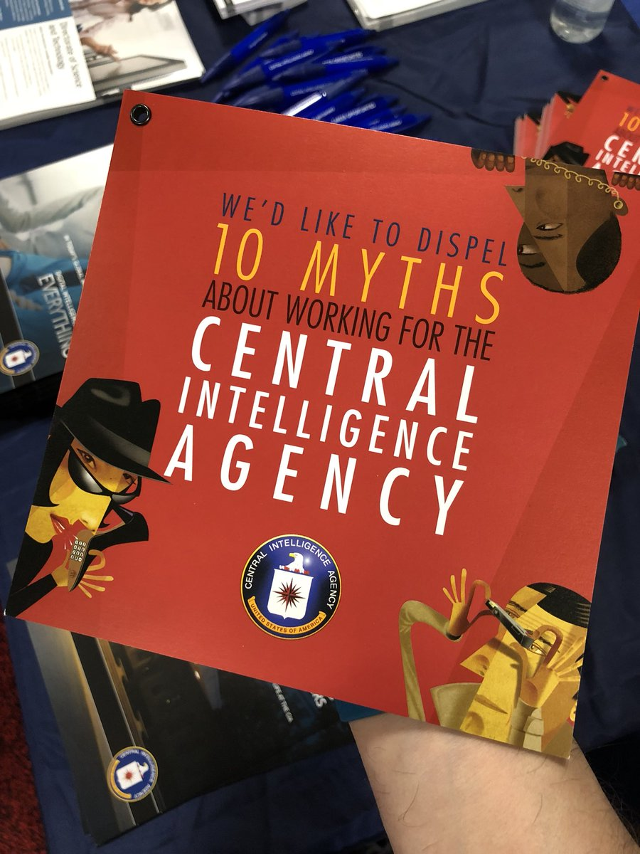 During #sxsw2018 you can meet some of the remarkable people who work within the IC and learn about career options from @CIA and @NGA_GEOINT at the #SXSW Job Market.