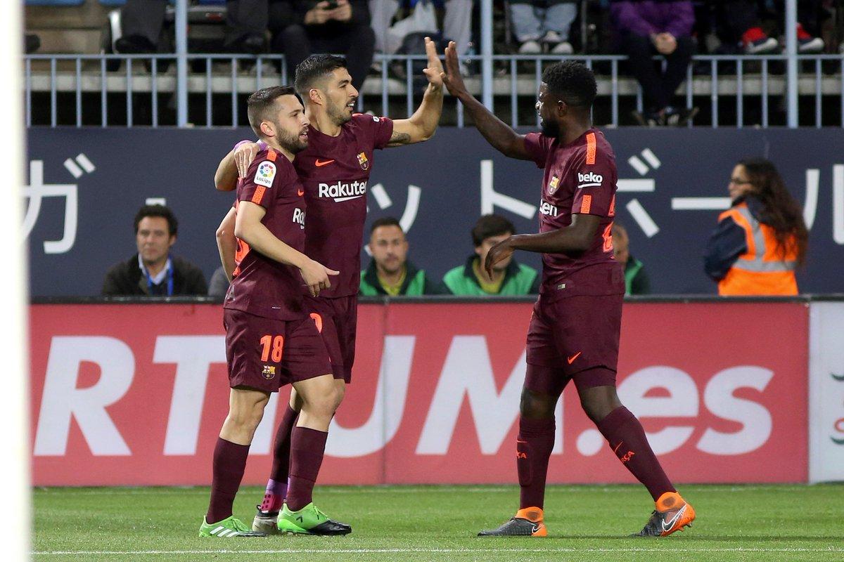 ¡Barcelona y ya!; vencen con autoridad al Málaga 0