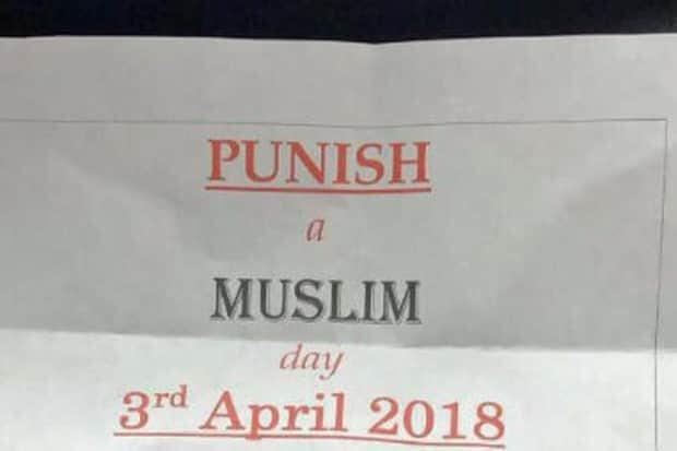 «Punir les musulmans»: les Britanniques incités à commettre des attaques meurtrières DX9EavbXUAApxCX