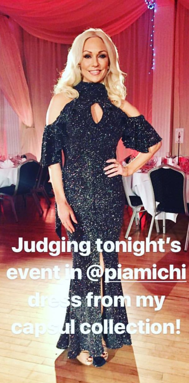 RT @TeamRihanoff: Stunning @KRihanoff judging tonight, wearing @Piamichi gown from her own collection 💃 https://t.co/VcdJiz9Hz1