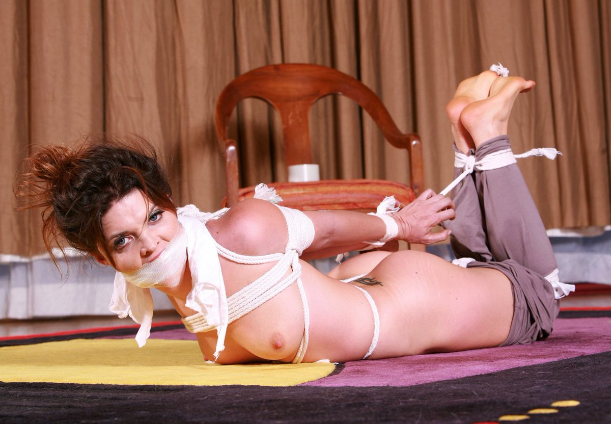Girlfriend Tied Up Anal