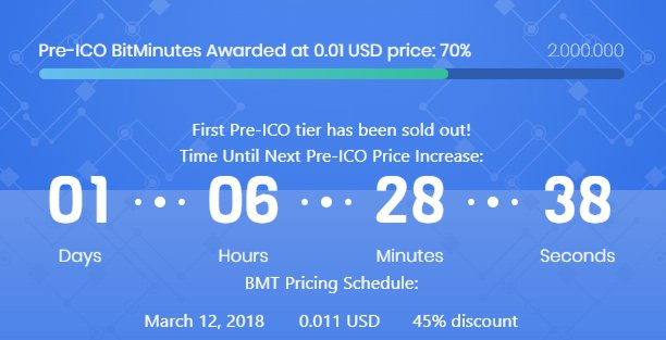 cryptocurrency mbmt ico price