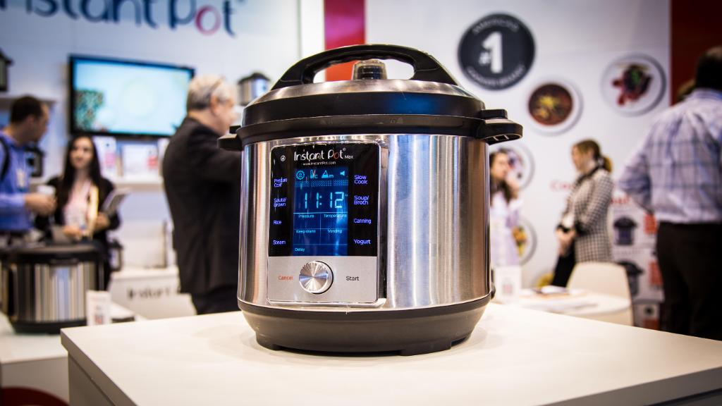 Instant Pot Max cooks faster, has more features than other models https://t.co/YVGLZHCW0c https://t.co/7o6X0rnfAA