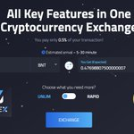 Image for the Tweet beginning: The Godex currency exchange service