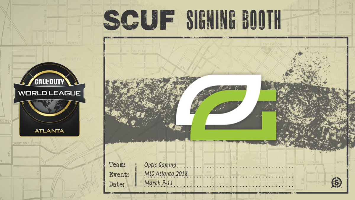 Are you at CWL Atlanta? The #OpTicCoD te...