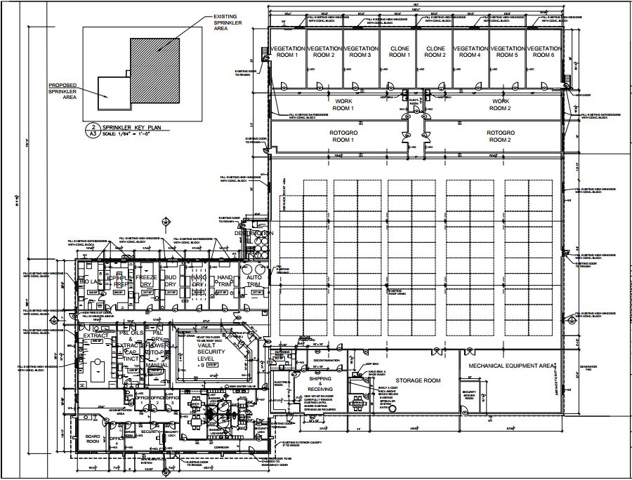 Roto gro international limited asxrgi blueprint page 1 here is a sneak peak at the layout of the new cultivation facility that gro3 and rotogro will be outfitting further details regarding the project are malvernweather Images