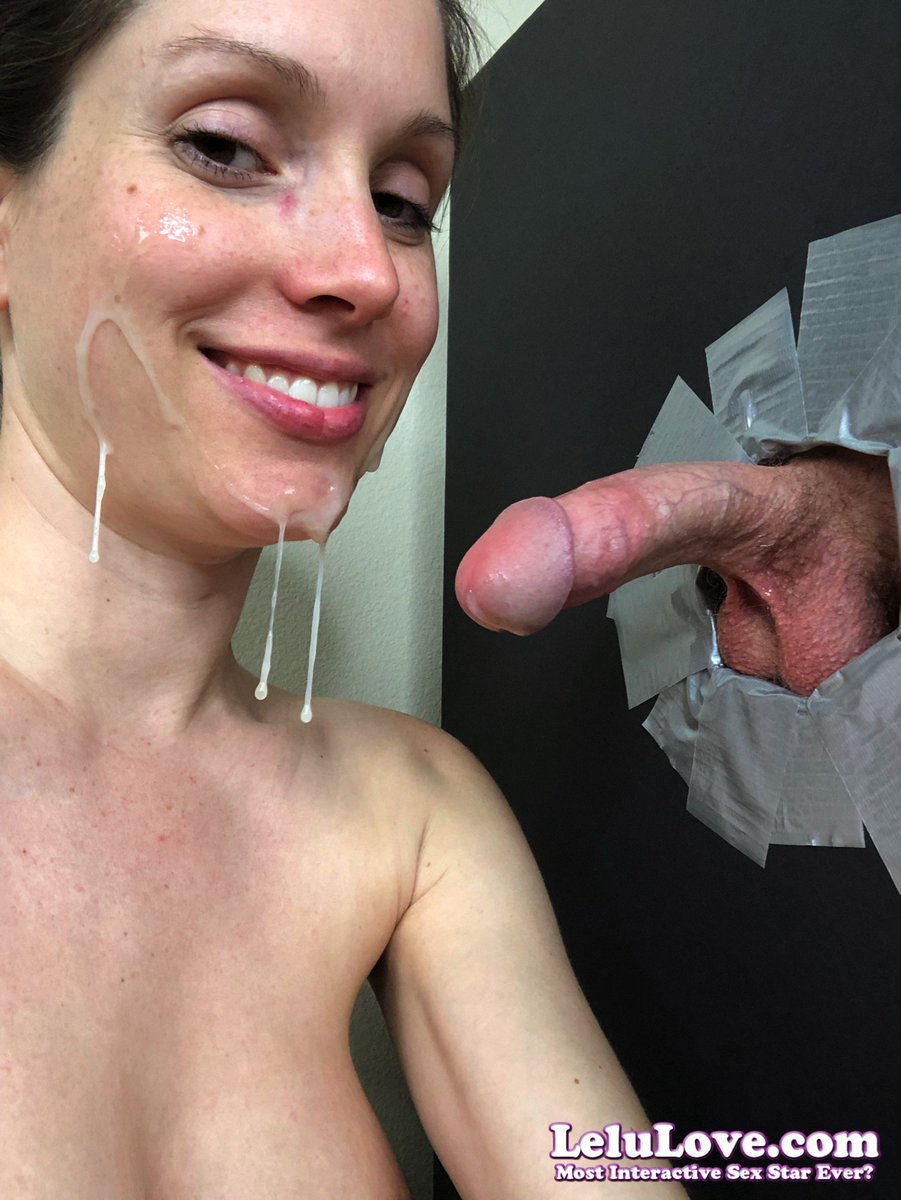 Lelu lovepov blowjob condom removal impregnation 4