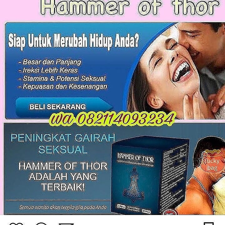 hammer of thor izon pria hoaxornot work agen resmi vimax