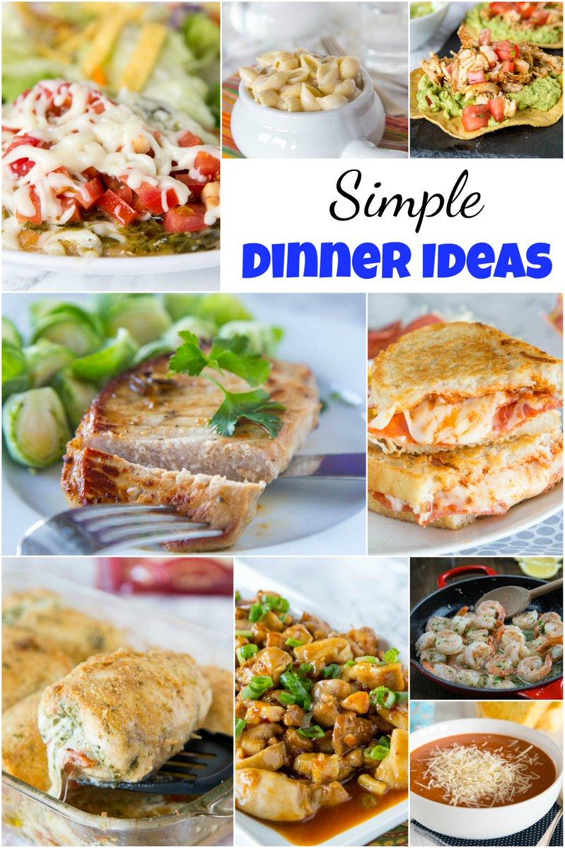dinnersdishesdessert on twitter simple dinner ideas get dinner
