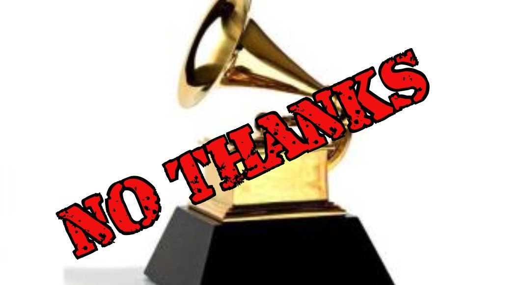 REWEET if you are NOT watching the #GRAMMYs tonight!  Intelligent Americans have no time for a bunch of hypocritical racist liberals patting themselves on the back as they bash our incredible President...again.  No thank you!  #Grammys2018 #MAGA by #MrEdTrain<br>http://pic.twitter.com/kwlAF9Keml