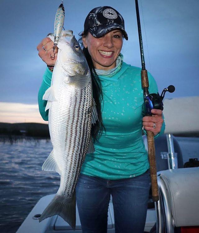 Delta striper fishing