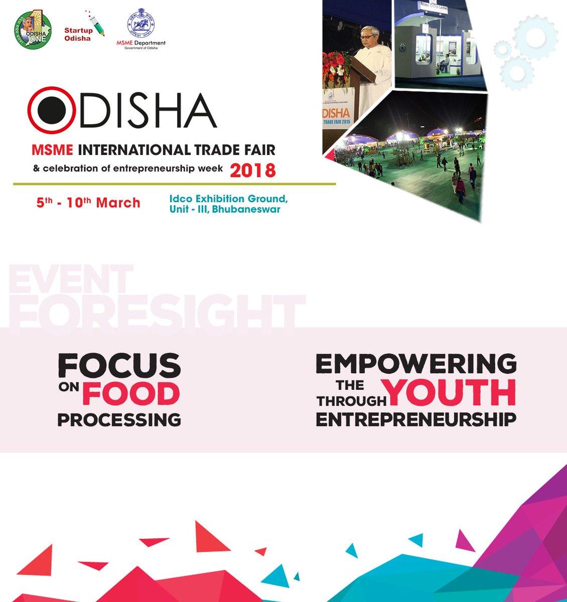 Odisha MSME International Trade Fair 2018 on Twitter