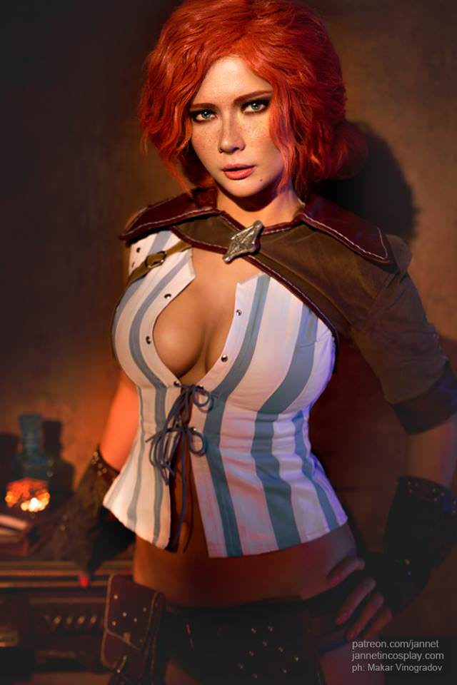 Трисс Меригольд (Triss Merigold) cosplay JannetInCosplay