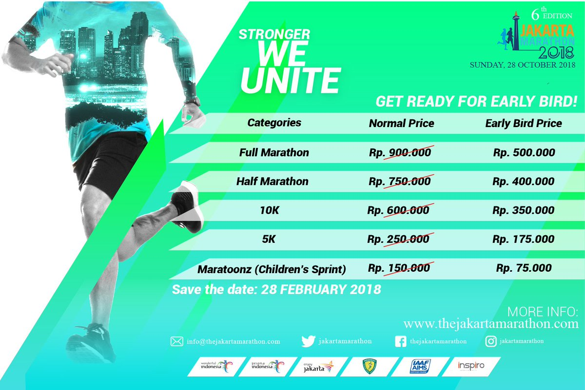 Jakarta Marathon Route 2018