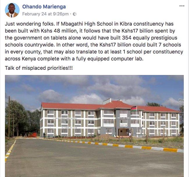 Boniface Mwangi On Twitter Mbagathi High School In Kibra