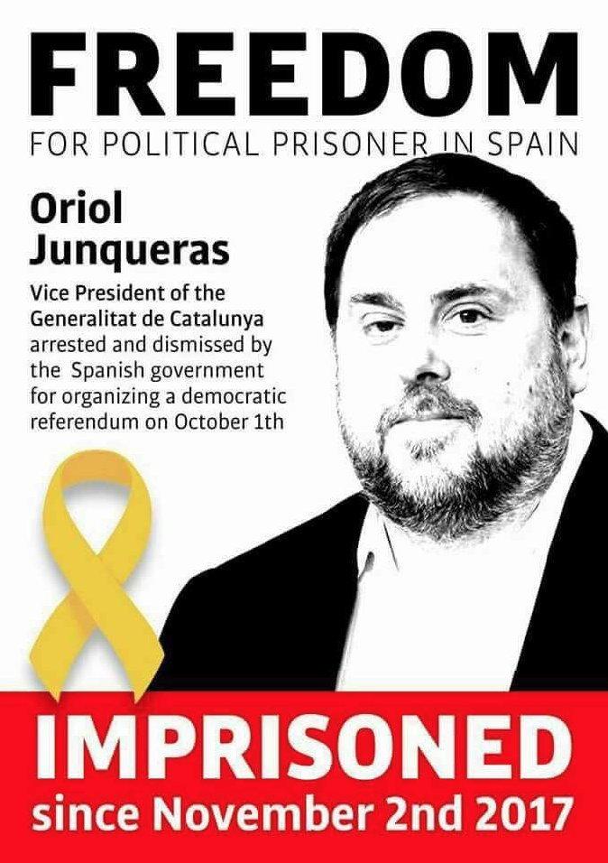 #FreePoliticalPrisoners 🎗  @junqueras  @...