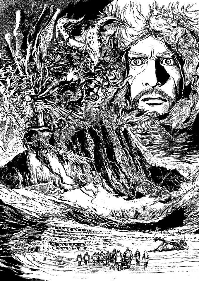 """Résultat de recherche d'images pour """"tanabe go les montagnes hallucinées"""""""