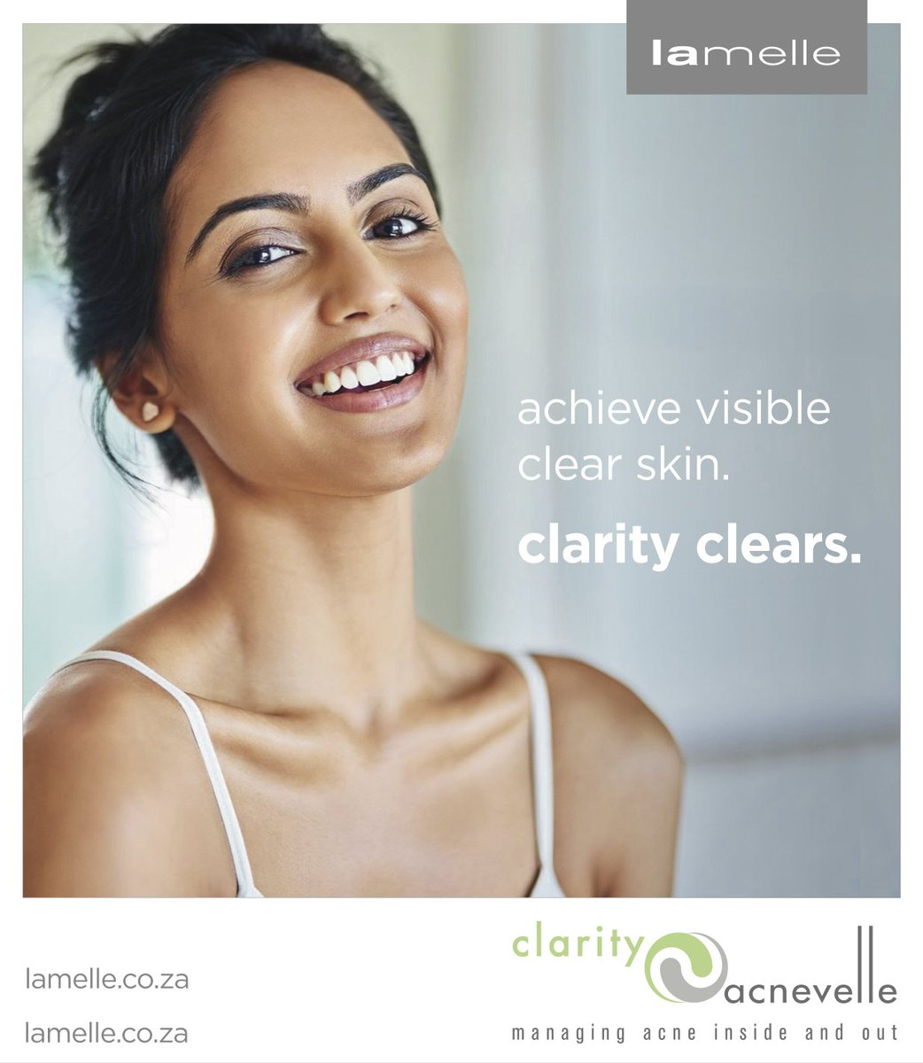 Get visibly clear skin now with Clarity. #ClarityClears