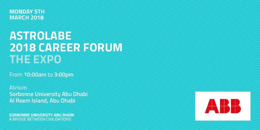 Sorbonne University Abu Dhabi on Twitter: