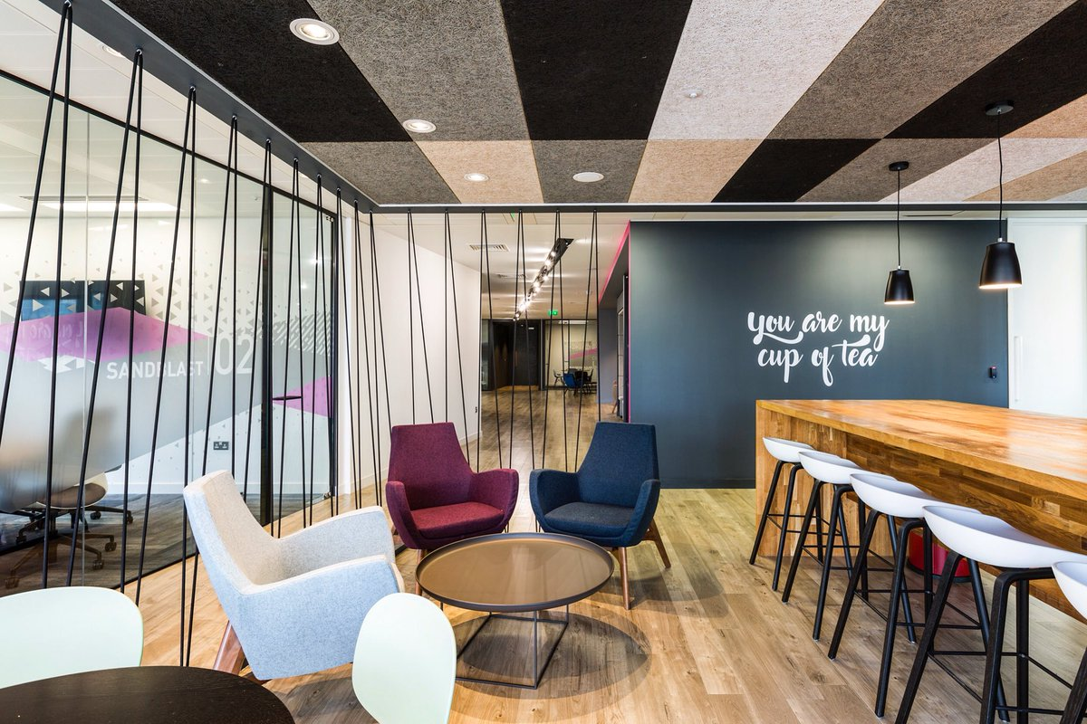 environment ribaj products calm creates interiors ceilings inviting plaster application commercial noise reduction and a armourcoat ceiling acoustic