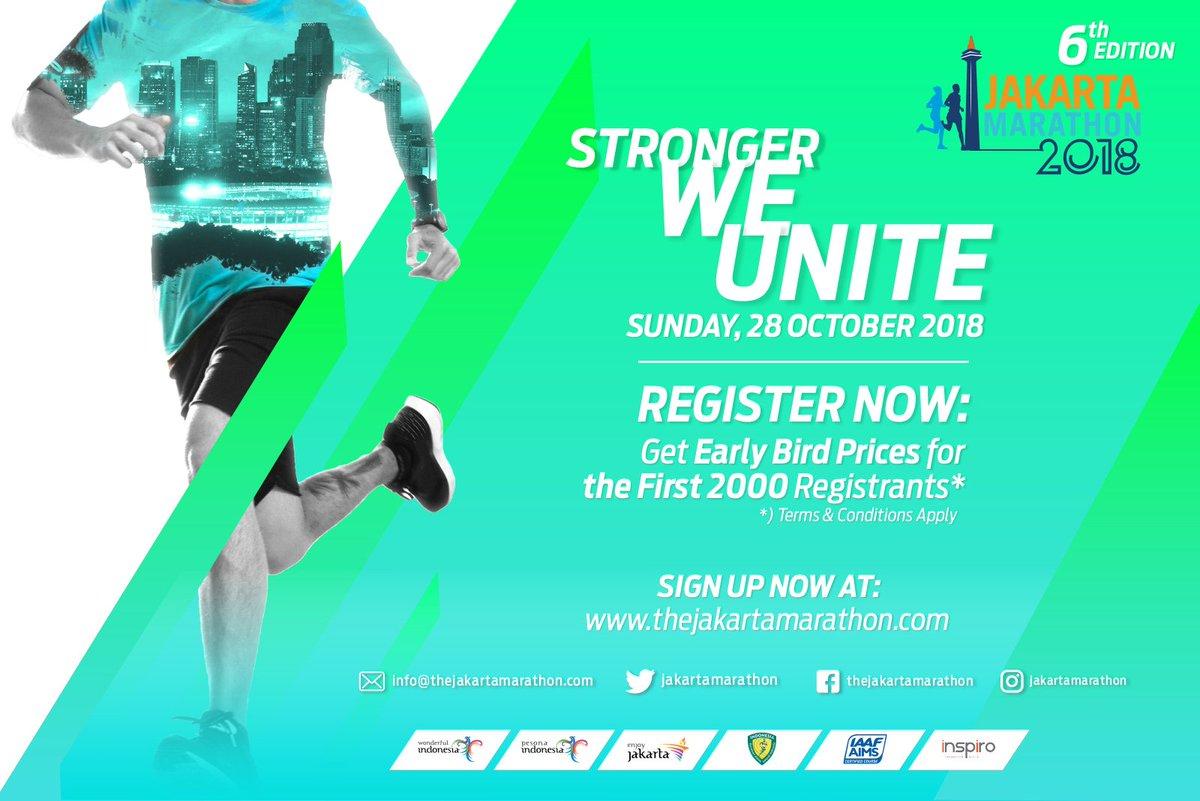 Jakarta Marathon • 2018