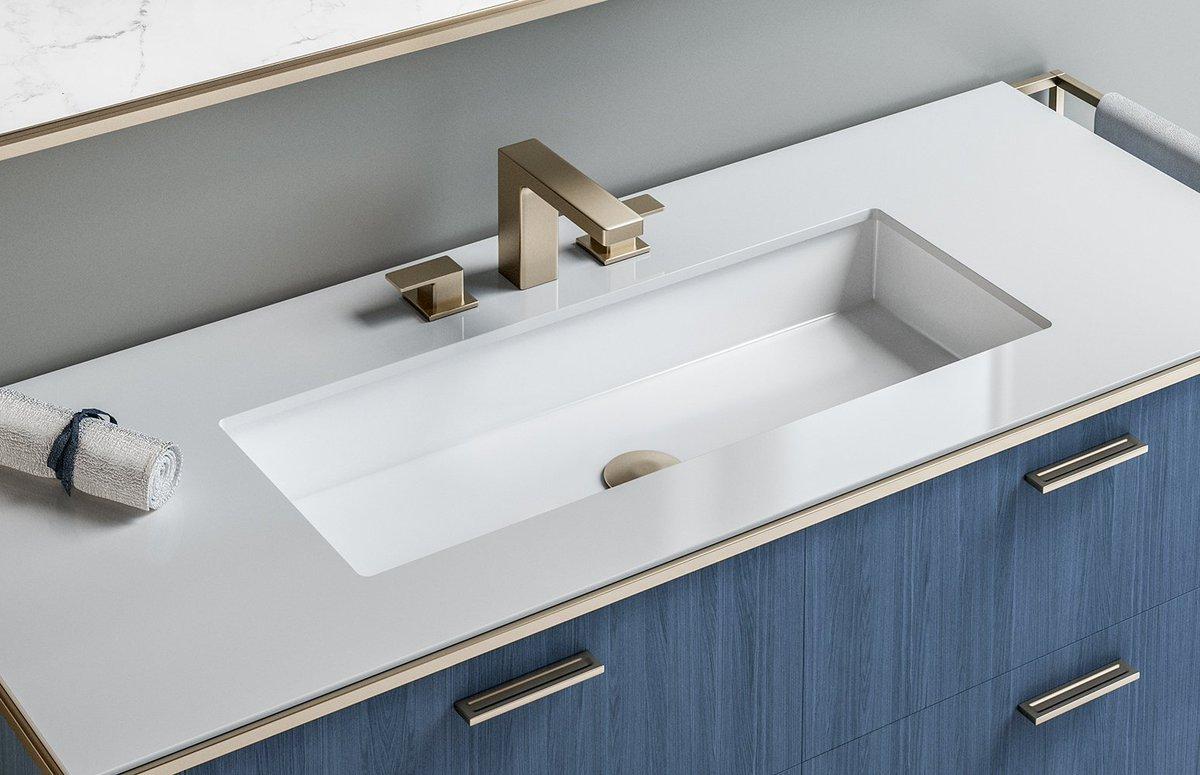 Cube Porcelain Under Mount Sink 5446un Https Goo Gl Grjrse Beauty Elegance Undermount Undercounter Bathroom Bathroomdesign
