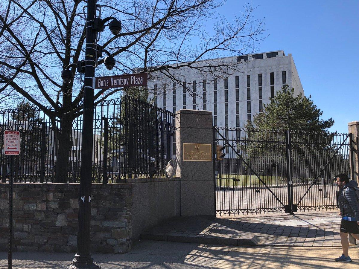 В Вашингтоне открыли площадь Бориса Немцова