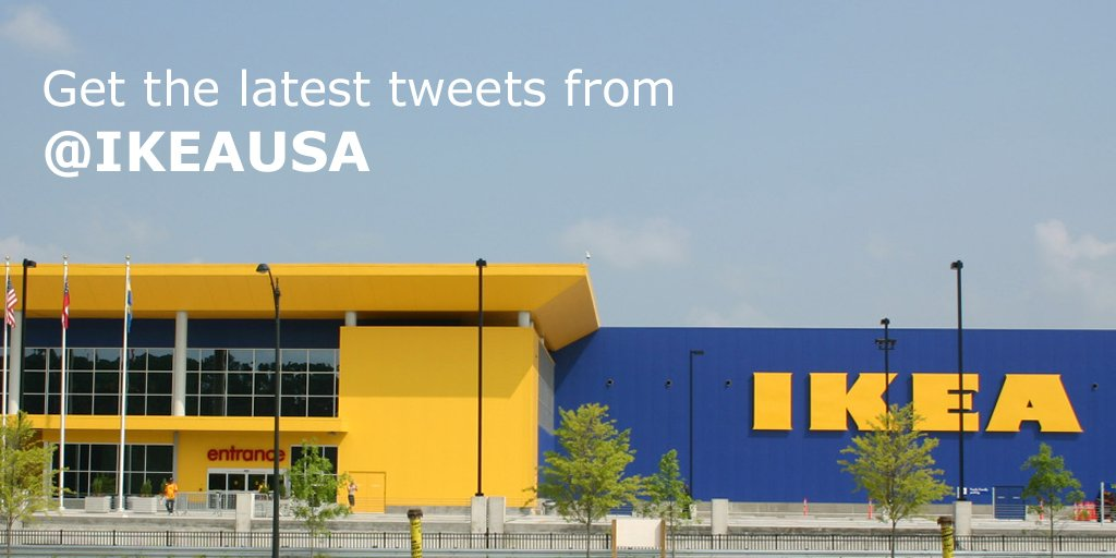 Ikea On Ikeaon Twitter