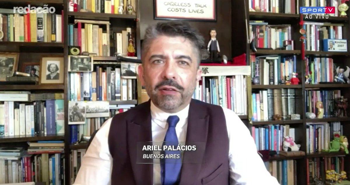 Ariel Palácios: 'Para os chilenos, o Cruzeiro é uma espécie de nêmesis.'  #RedacaoSporTV