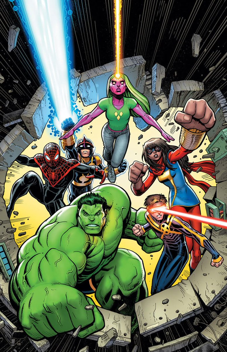 Teen Titans Young Avengers New X Men Etc A Jimzubtumblr Post 171345965755 What Do You Think Makes The Champions Different To