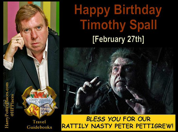 Happy Birthday to Timothy Spall!