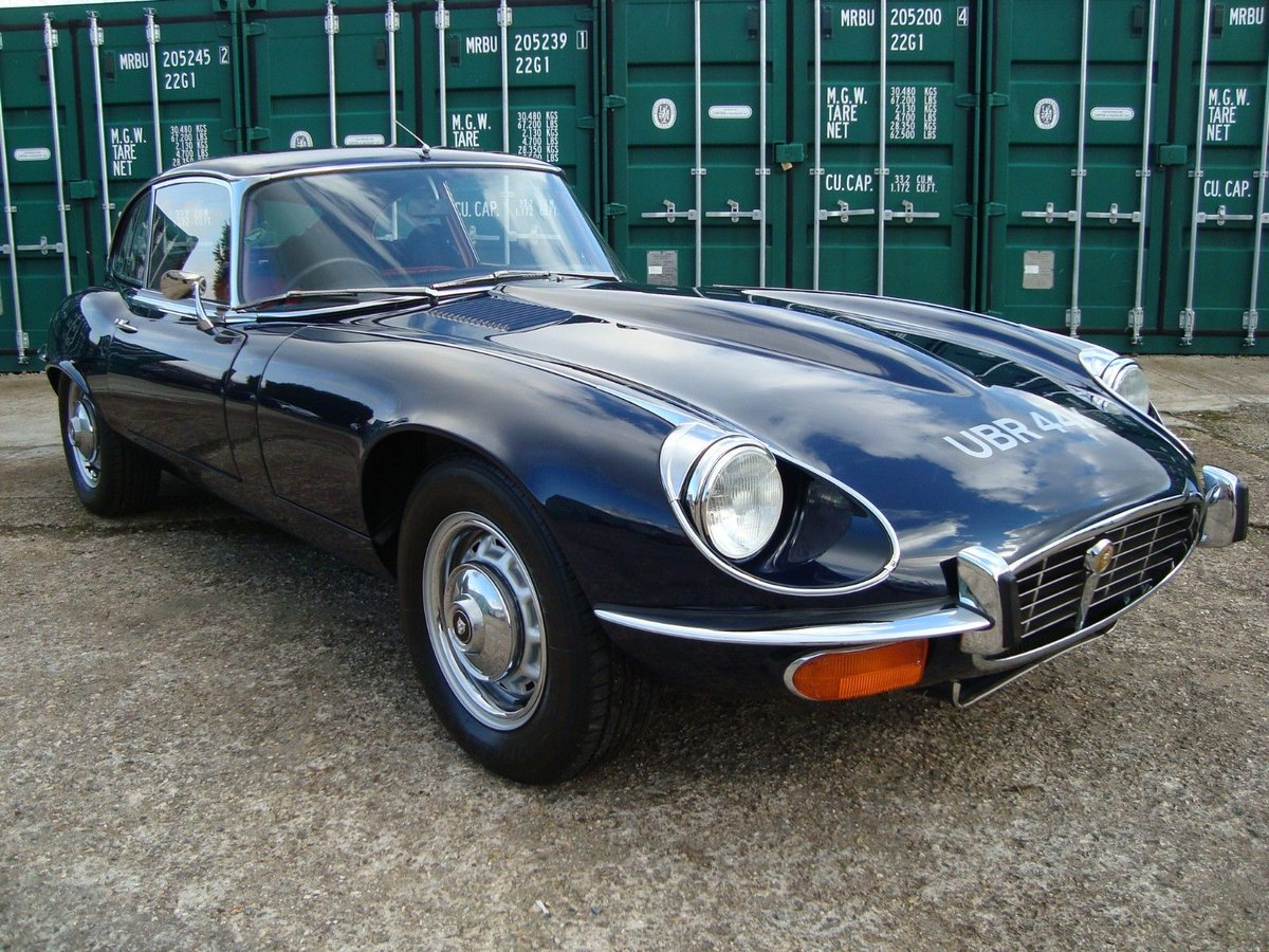Uk Classic Cars On Twitter Ebay 1972 Jaguar E Type 5 3 V12 Fixed Head 2 2 Auto Https T Co Um8o2cxj5x Classiccars Cars