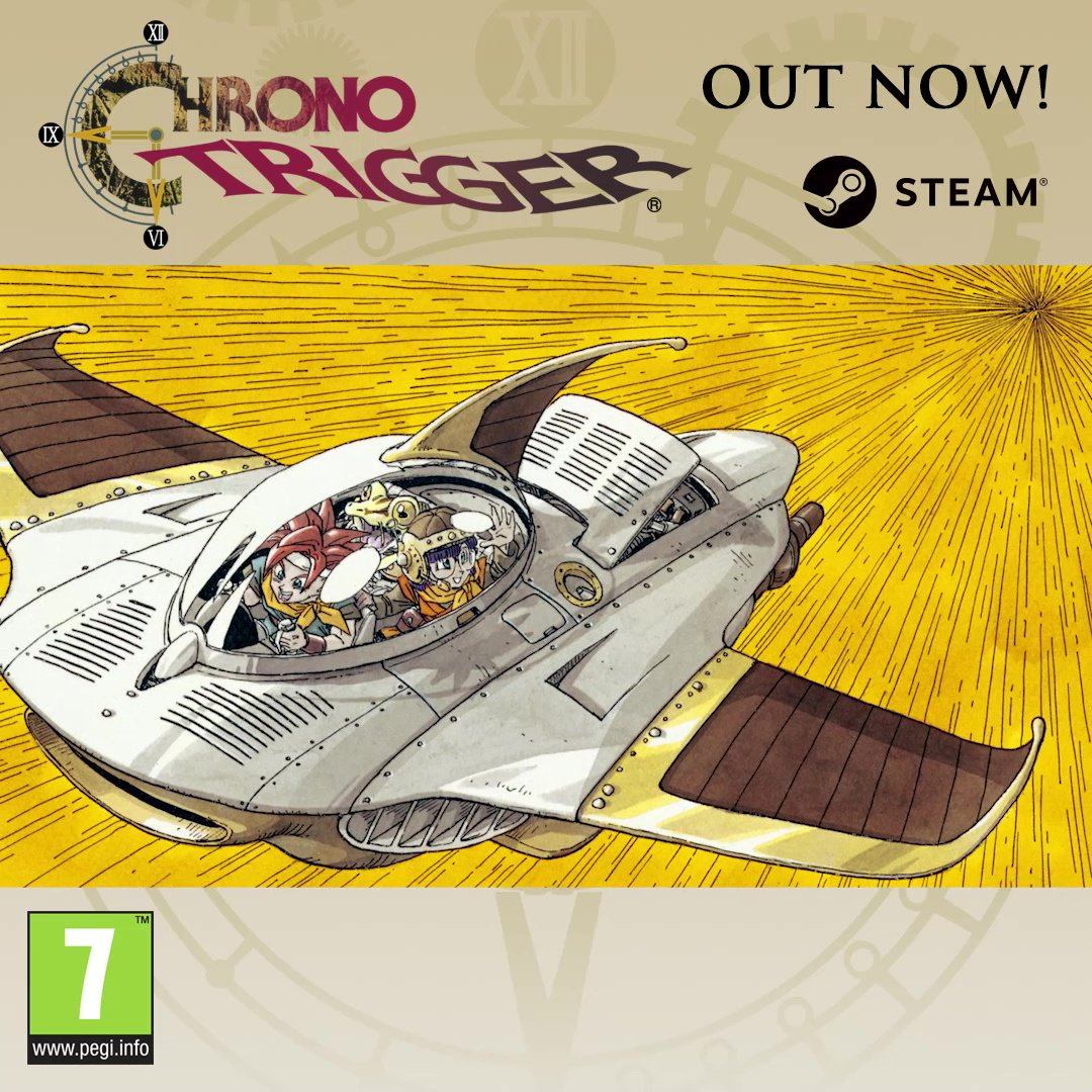Make history once again. #ChronoTrigger is OUT NOW on Steam! 👉 sqex.to/zbw